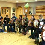 Bodhran class Coleman Irish Music Centre