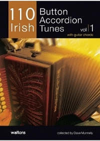 110 Irish- Button Accordion Tunes- No Cd