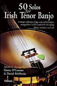 50 Solos For The Irish Tenor Banjo Gerry