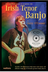 Gerry O Connor Irish Tenor Banjo + Cd