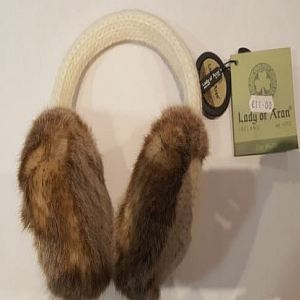 Lady Of Aran Ear Muffs