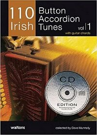 110 Irish- Button Accordion Tunes- Cd Ed