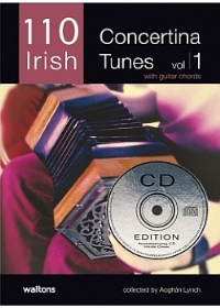 110 Irish - Concertina - Cd Ed