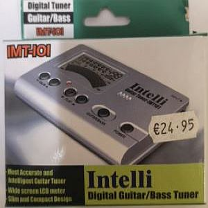 Intelli Digital Guitar/ Basstuner
