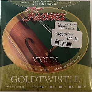 Violin Strings Fisoma Goldtwistle