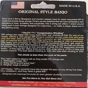 Dr Banjo Strings Full Set