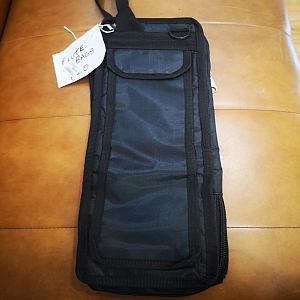 Flute Bag- L/wieght - Black With Strap