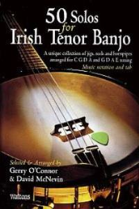 50 Solos For Irish Tenor Banjo - No Cd