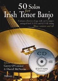 50 Solos For Irish Tenor Banjo- Cd Ed