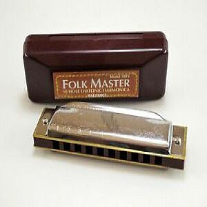Mouth Organ - Folk Master - 10 Hole - G