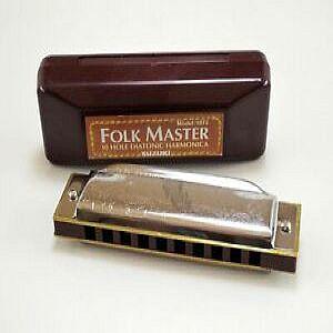 Mouth Organ - Folk Master - 10 Hole - E