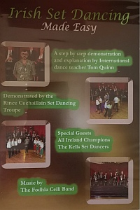 Irish Set Dancing - Made Easy Dvd