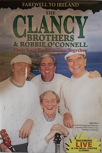 The Clancy Brothers& Robbie Oconnell Dvd