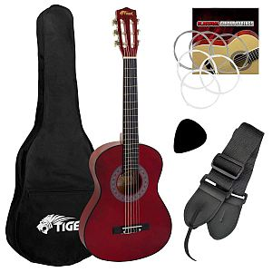 Guitar-tiger Steel String Classic Pk-3/4