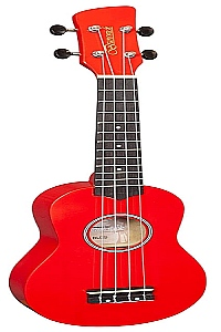 Ukulele - Brunswick - Red