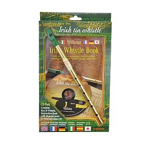 Whistle - Irish Tin Whistle - Cd Pack
