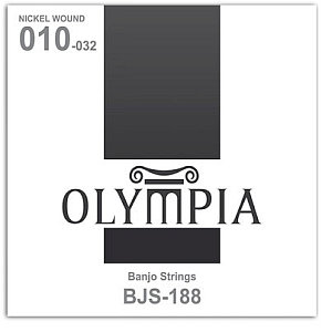 Banjo Strings- Olympia- Bjs-188