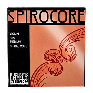 Violin Strings- Spirocore- Full Set- Med